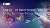Smallest Low-Power Wireless Power Receiver IDT P9222-R